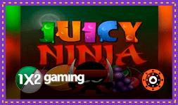 1x2 Gaming annonce le jeu de casino Juicy Ninja