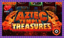2By2 Gaming présente le jeu de casino Aztec Temple Treasures