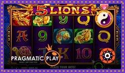 5 Lions : Nouvelle machine à sous en ligne de Pragmatic Play