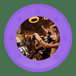 casino et machines à 5 rouleaux