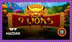 9 Lions : Nouveau jeu de casino de Wazdan