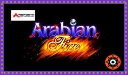 Arabian Fire : Jeu signé par le développeur Ainsworth