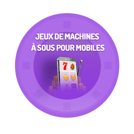 machines à sous mobile