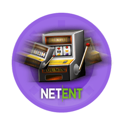 logo NetEnt in a slot machine