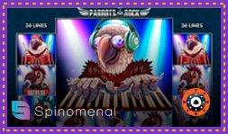Nouveau jeu de Spinomenal : Parrots Rock