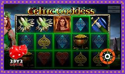 Nouvelle sortie jeu de casino : Celtic Goddess de 2by2 Gaming