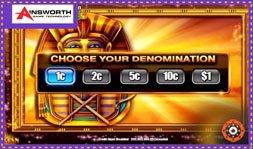 Ainsworth signe bientôt le jeu de casino Egyptian Wealth