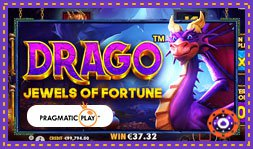 Allez à la découverte du jeu de casino Drago: Jewels Of Fortune
