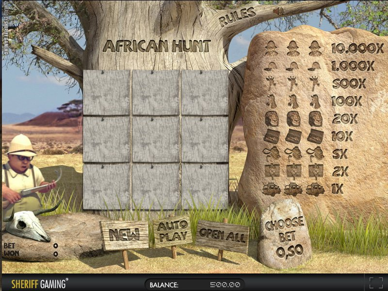 African Hunt - apercu