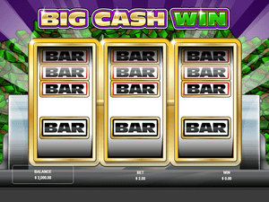 Big Cash Win - apercu