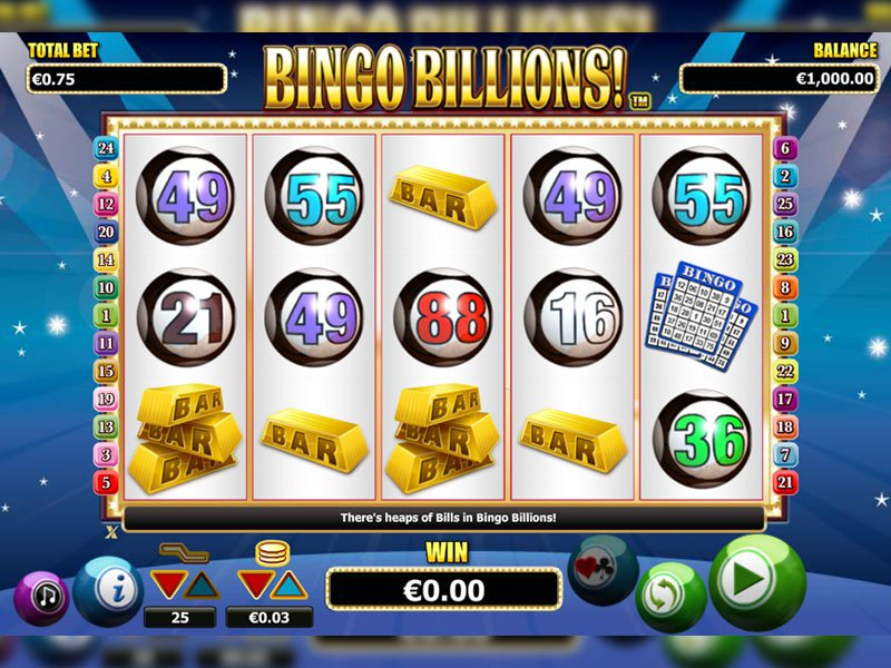 Bingo Billions - apercu