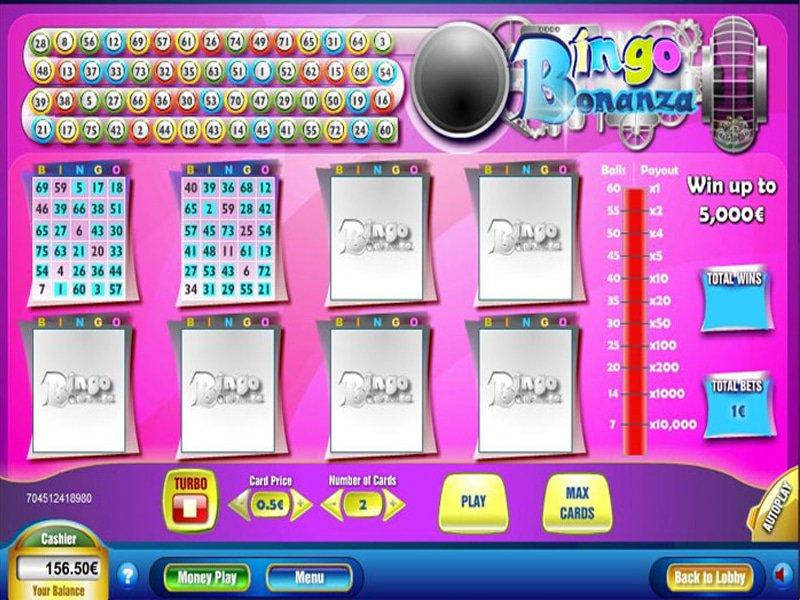 Bingo Bonanza - apercu