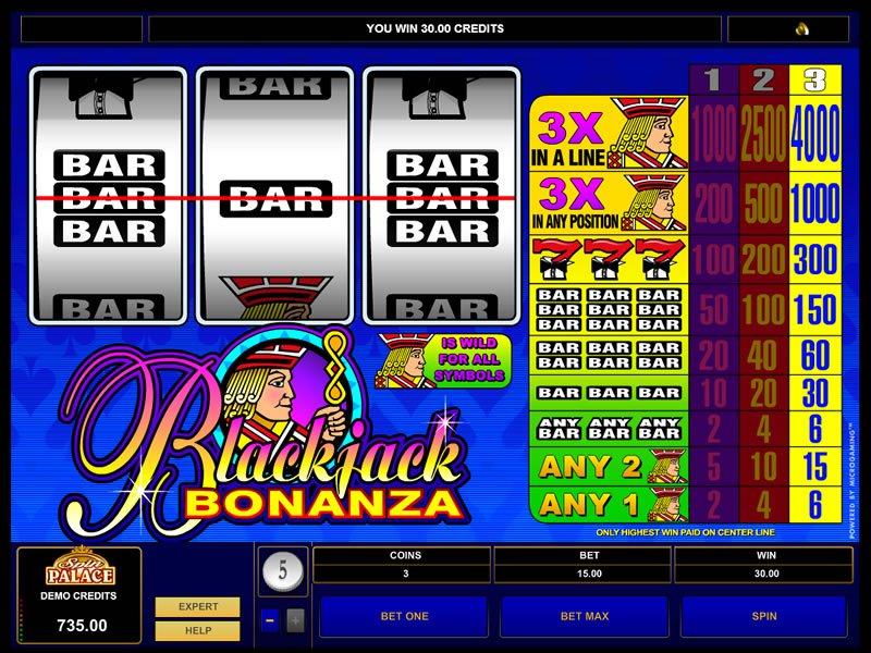 Blackjack Bonanza - apercu