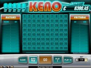 Bonus Keno - apercu