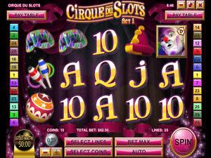 Cirque Du Slots - apercu