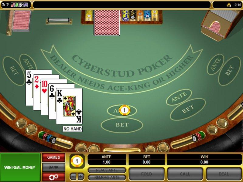 Cyberstud Poker - apercu