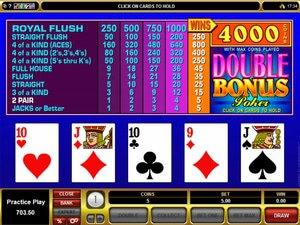 Double Bonus Poker - apercu