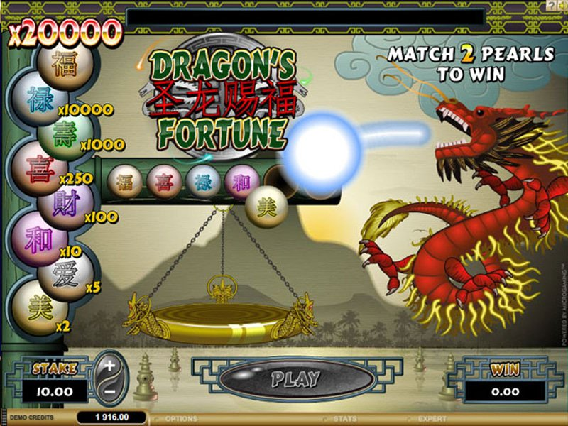 Dragons Fortune - apercu