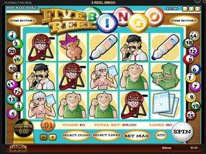 Five Reel Bingo - apercu