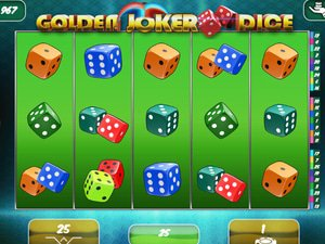 Golden Joker Dice - apercu