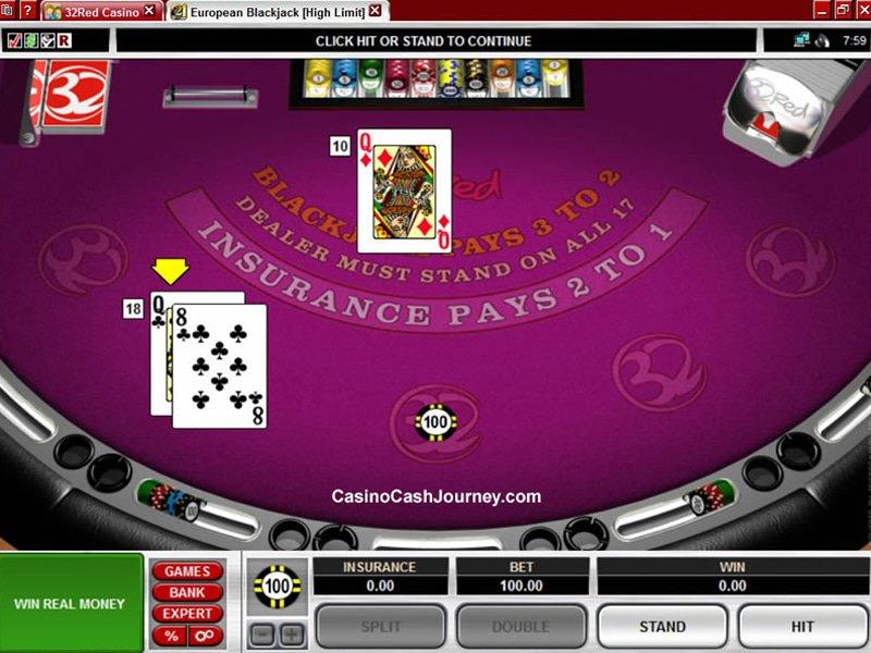 High Limit European Blackjack - apercu