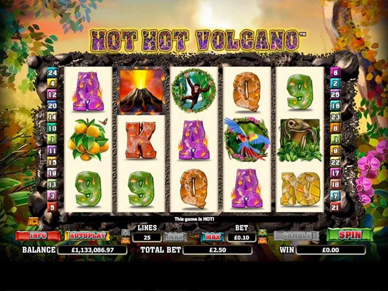 Hot Hot Volcano - apercu