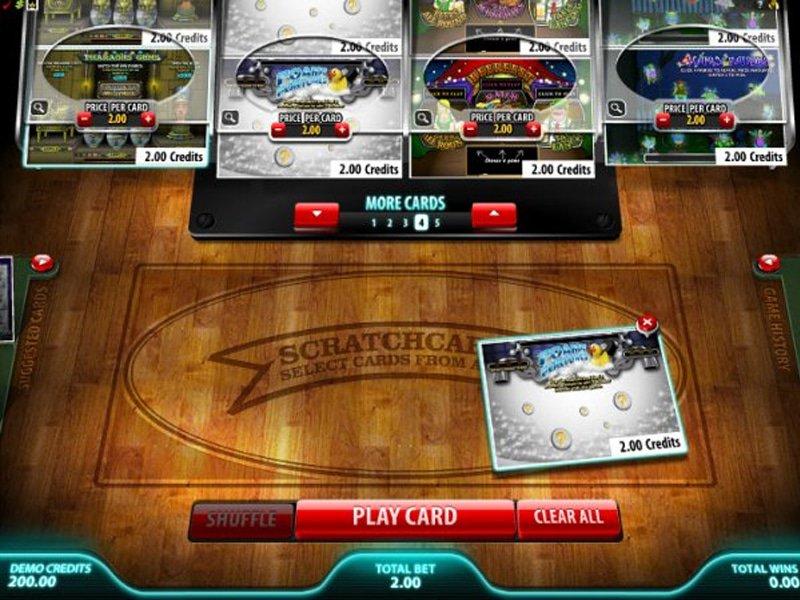 Instant Win Card Selector - apercu
