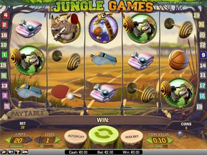 Jungle Games - apercu