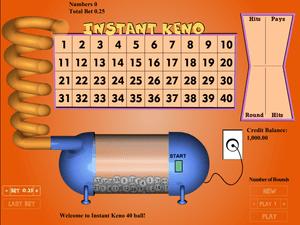 Keno 40-Ball - apercu