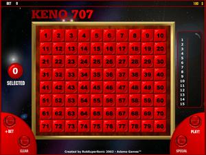 Keno 707 - apercu
