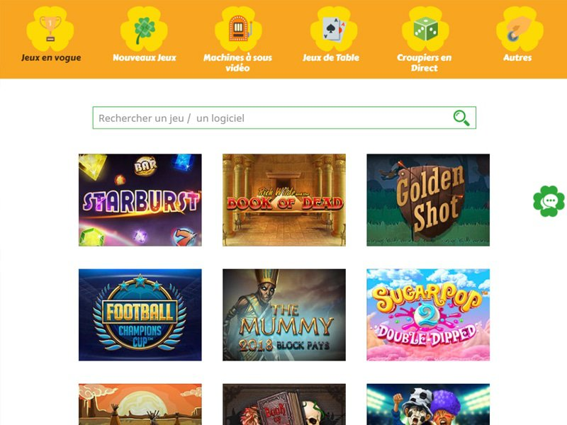 All Wins Casino - apercu de logiciel