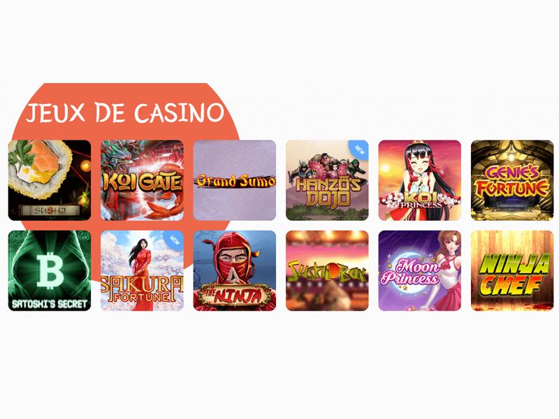 Banzai Slots - apercu de logiciel