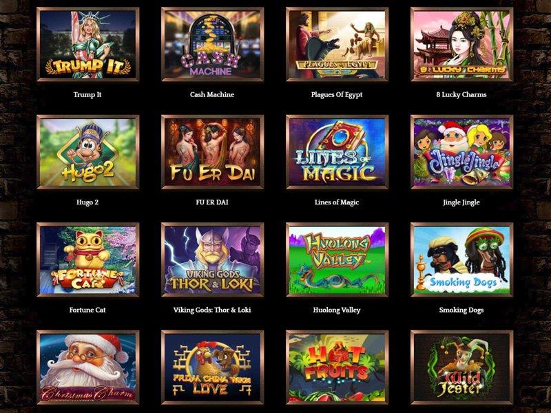 Bronze Casino - apercu de logiciel