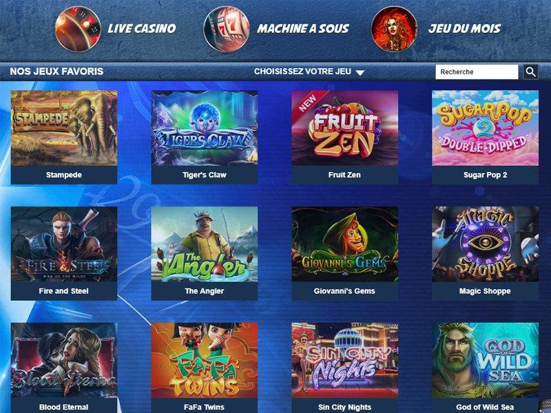 Casino Astral - apercu de logiciel