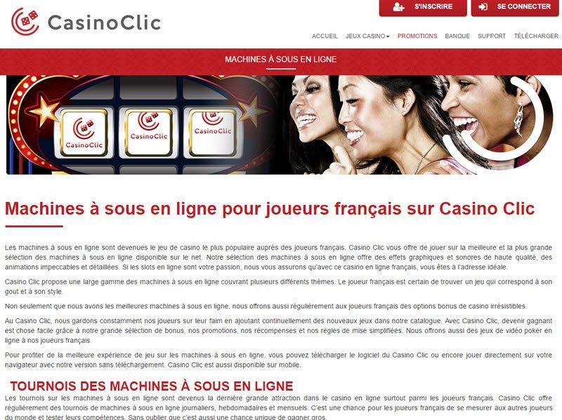 Casino Clic - apercu de logiciel