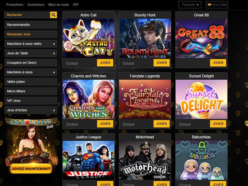 Casino Enzo - apercu de logiciel