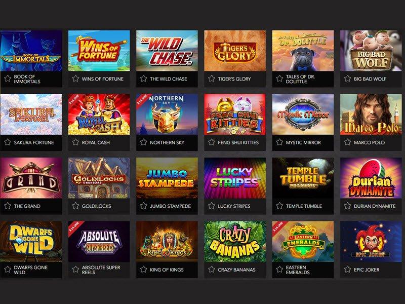 Casino Joka - apercu de logiciel