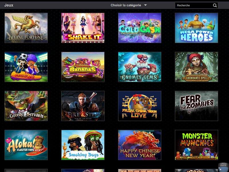 Casino MagikSlots - apercu de logiciel
