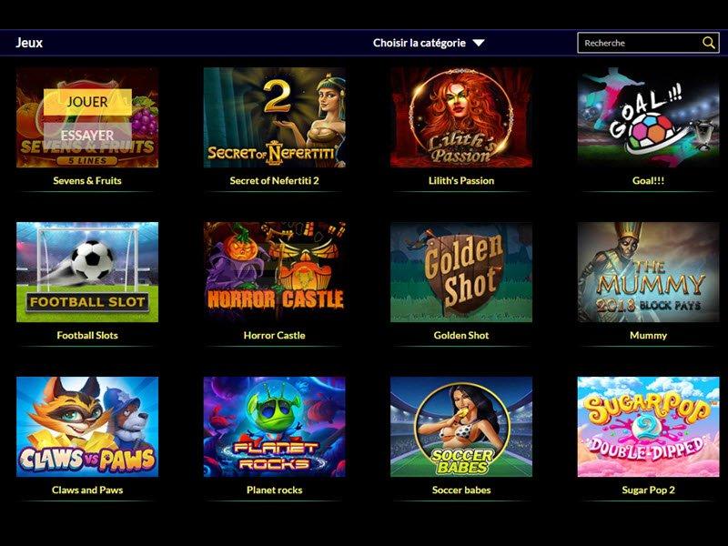 Casino Times Square - apercu de logiciel