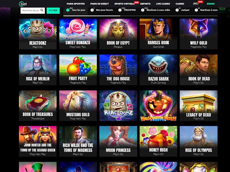 Cbet Casino - apercu de logiciel