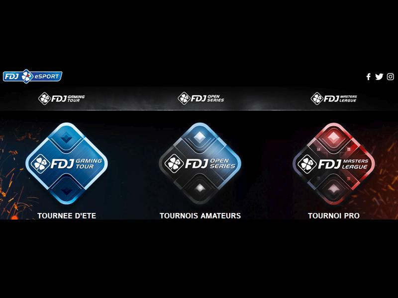 FDJ eSports - apercu de logiciel