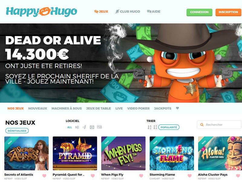 Happy Hugo - apercu de logiciel