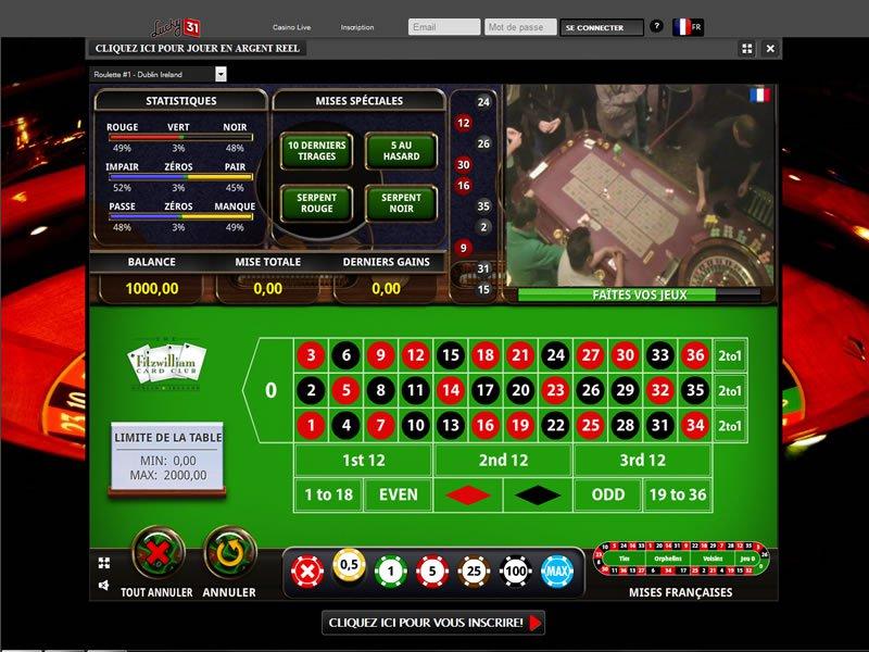 Lucky31 - apercu de logiciel