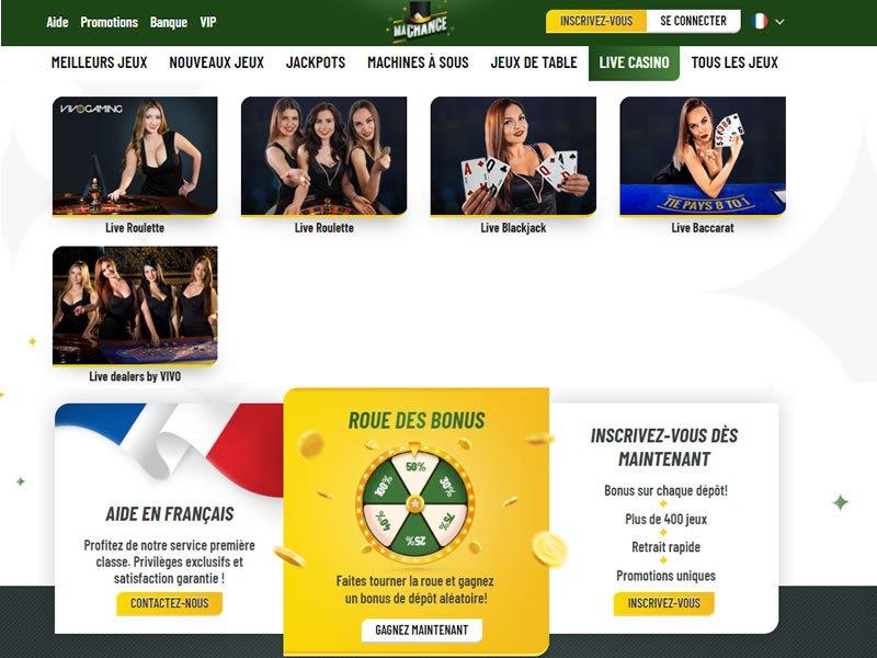 Ma Chance Casino - apercu de logiciel