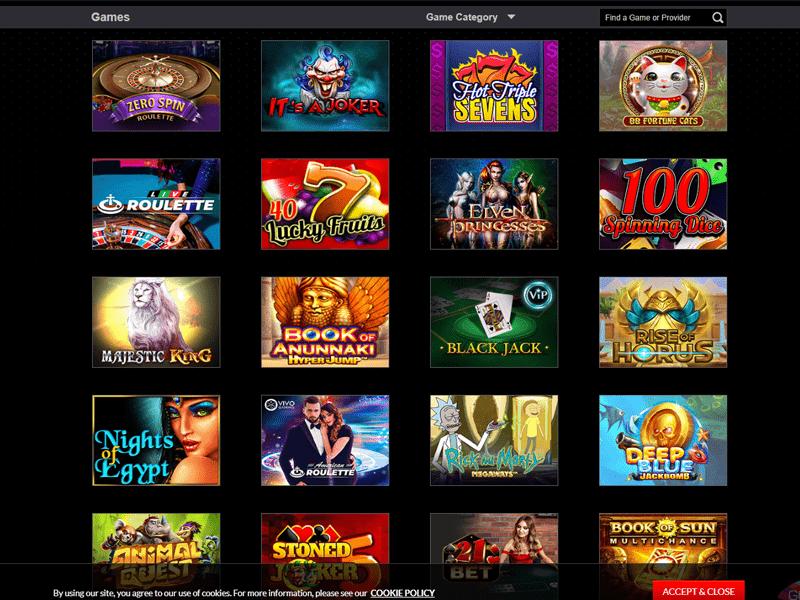 Magicazz Casino - apercu de logiciel