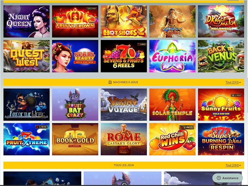 Malibu Club Casino - apercu de logiciel