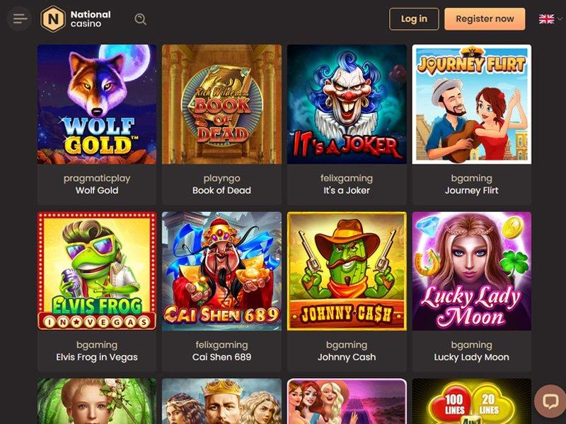 National Casino - apercu de logiciel