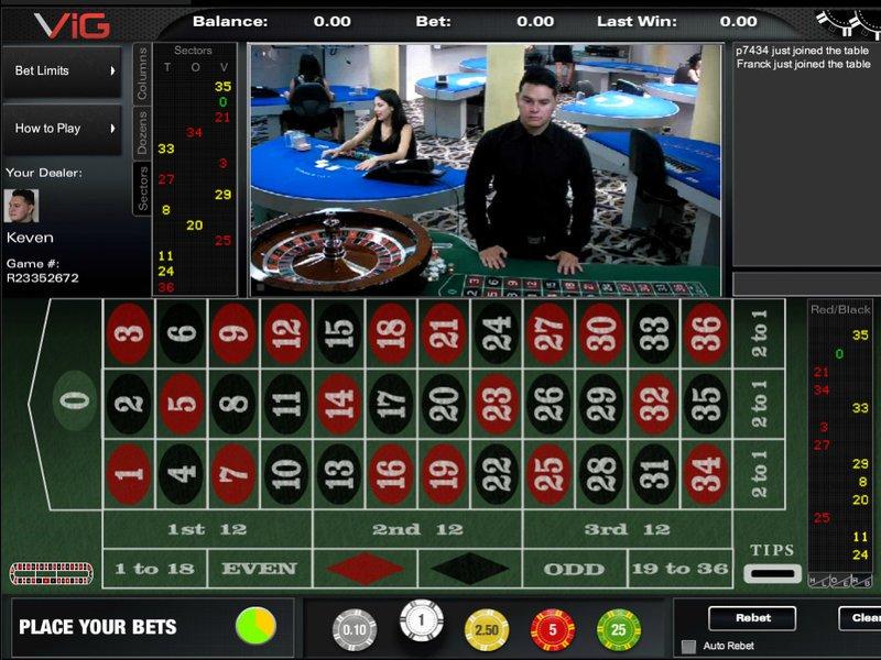 ParisVIP Casino - apercu de logiciel