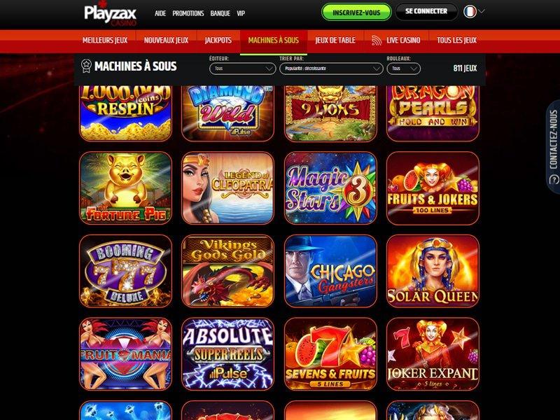 PlayZax - apercu de logiciel