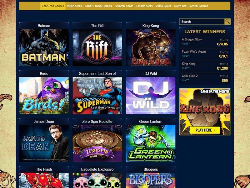 Ramses Gold Casino - apercu de logiciel